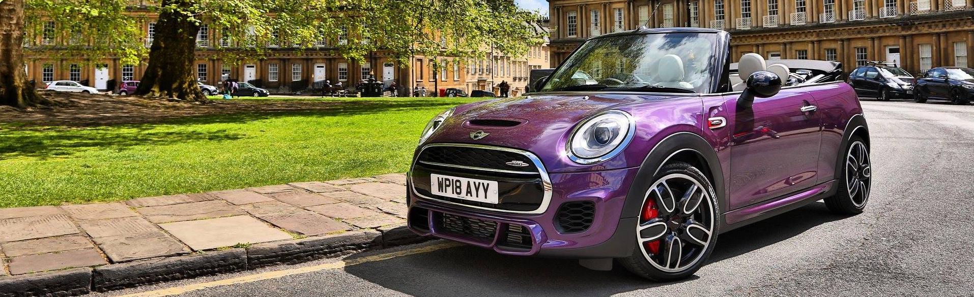 MINI Purple Silk Parked