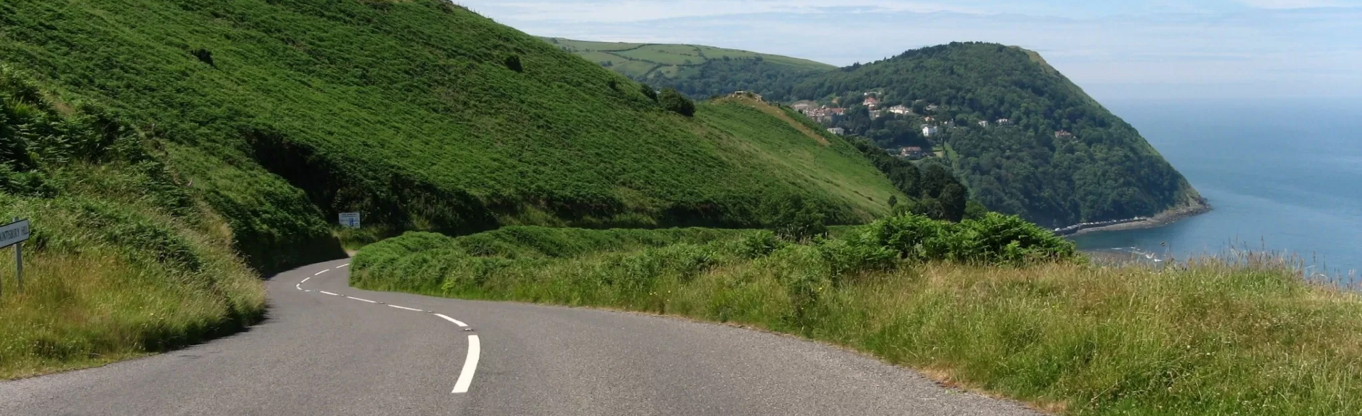 Best Driving Roads Along The Quantock Hills and Exmoor