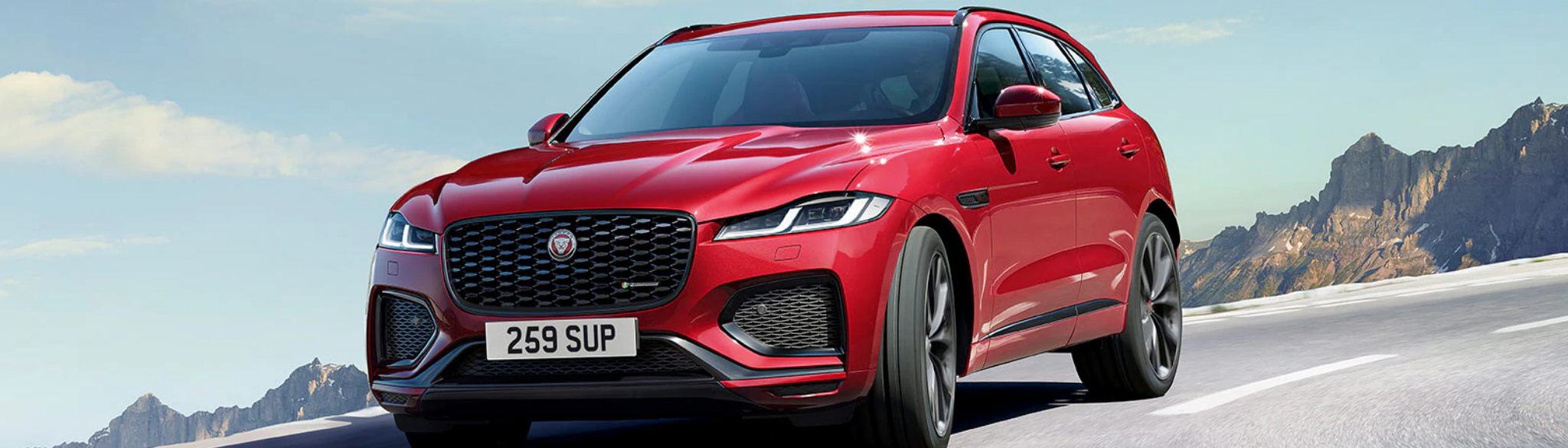 New Jaguar F PACE SUV H
