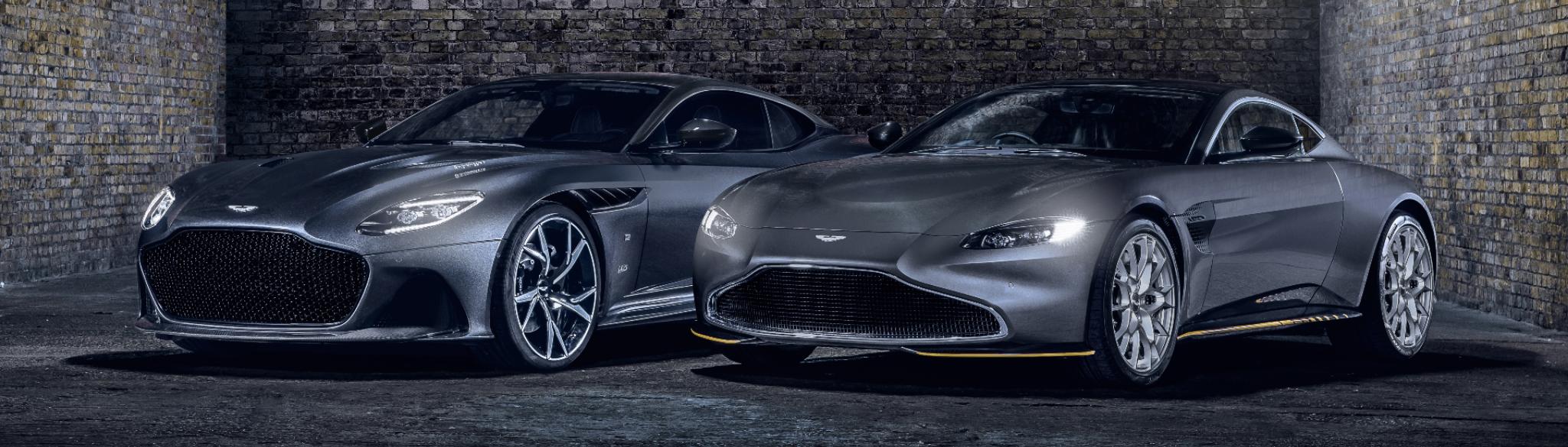 007 Bond Edition Aston DBS Superleggera And Vantage