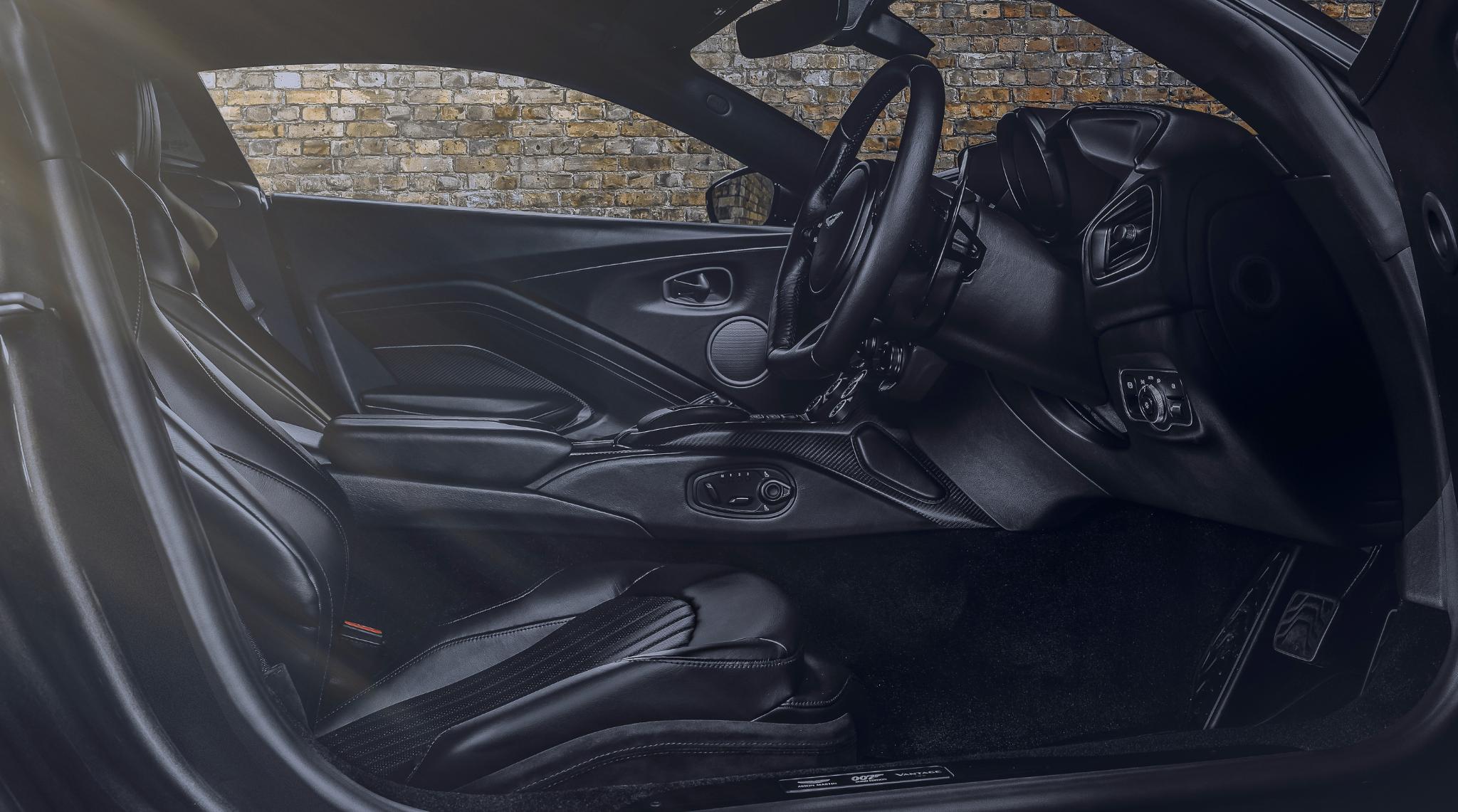 Aston Martin Vantage 007 Edition Interior