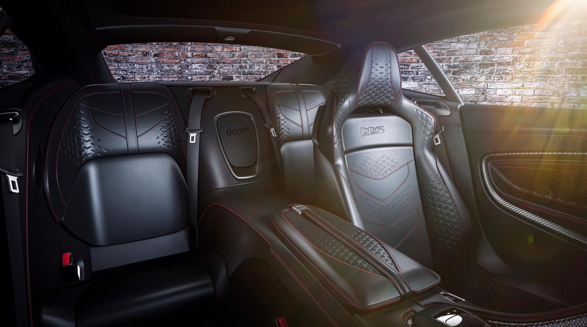 007 Aston Martin DBS Superleggera Interior.2