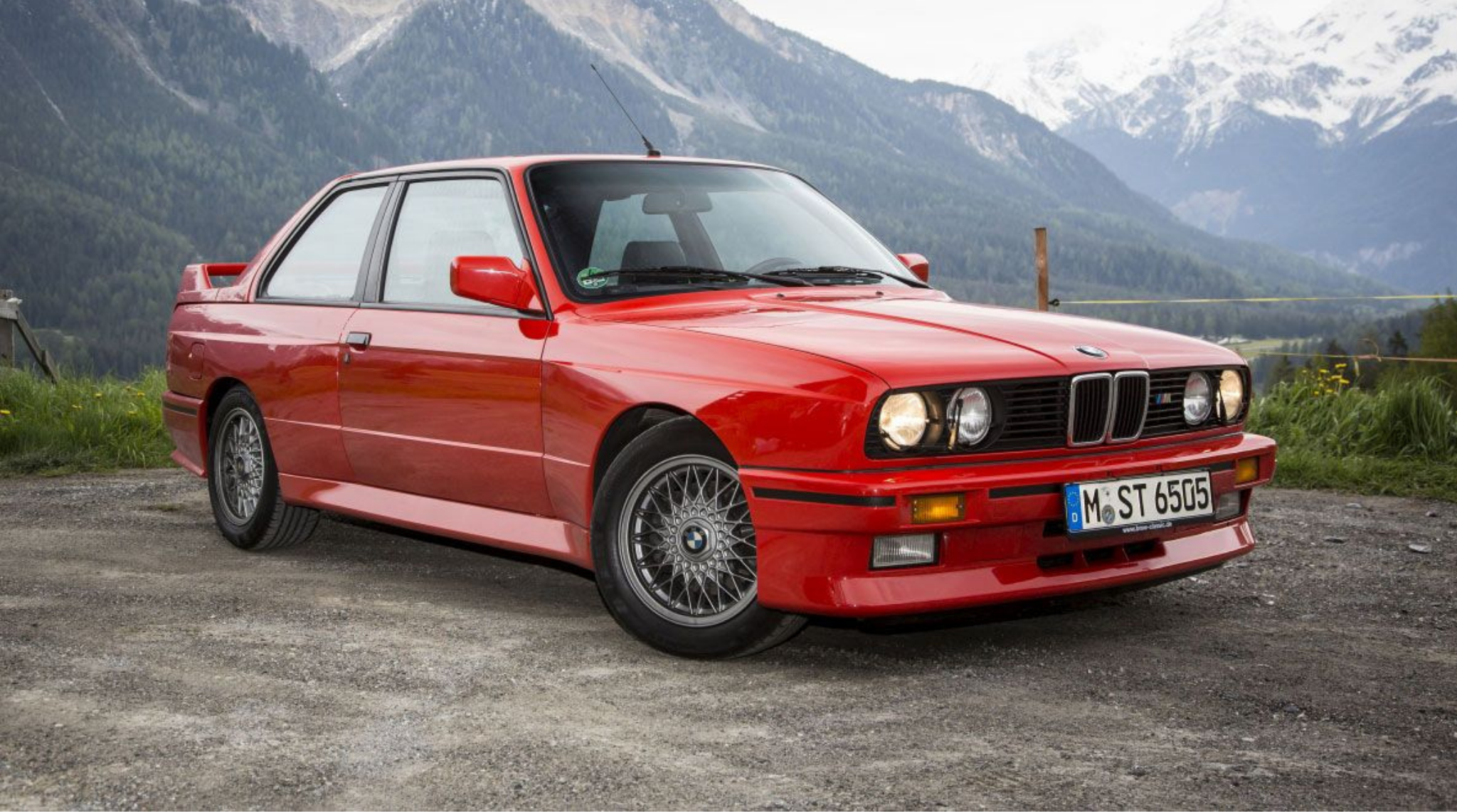 BMW M3  E30 1986 to 1981 Front
