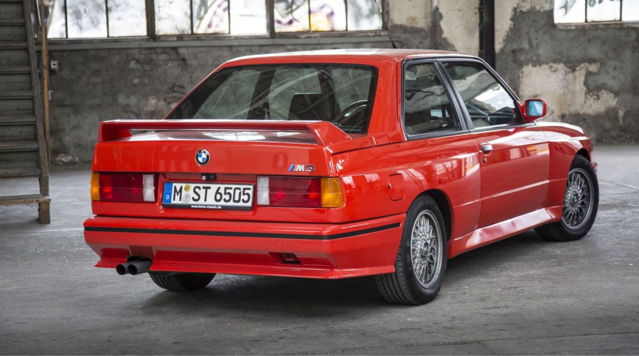 BMW M3   E30 1986 to 1981 Rear