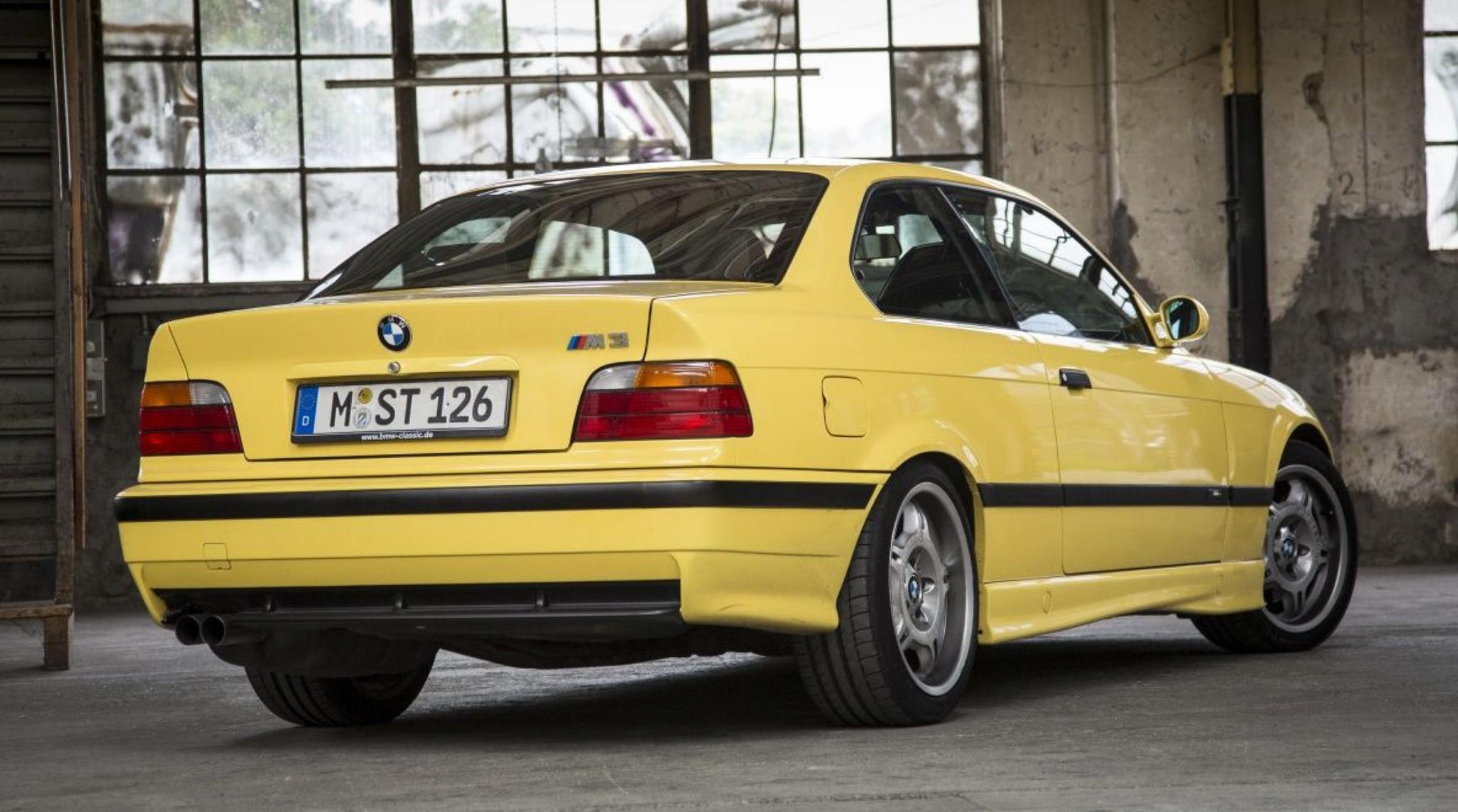 M3 E36 1992 to 1999 Rear