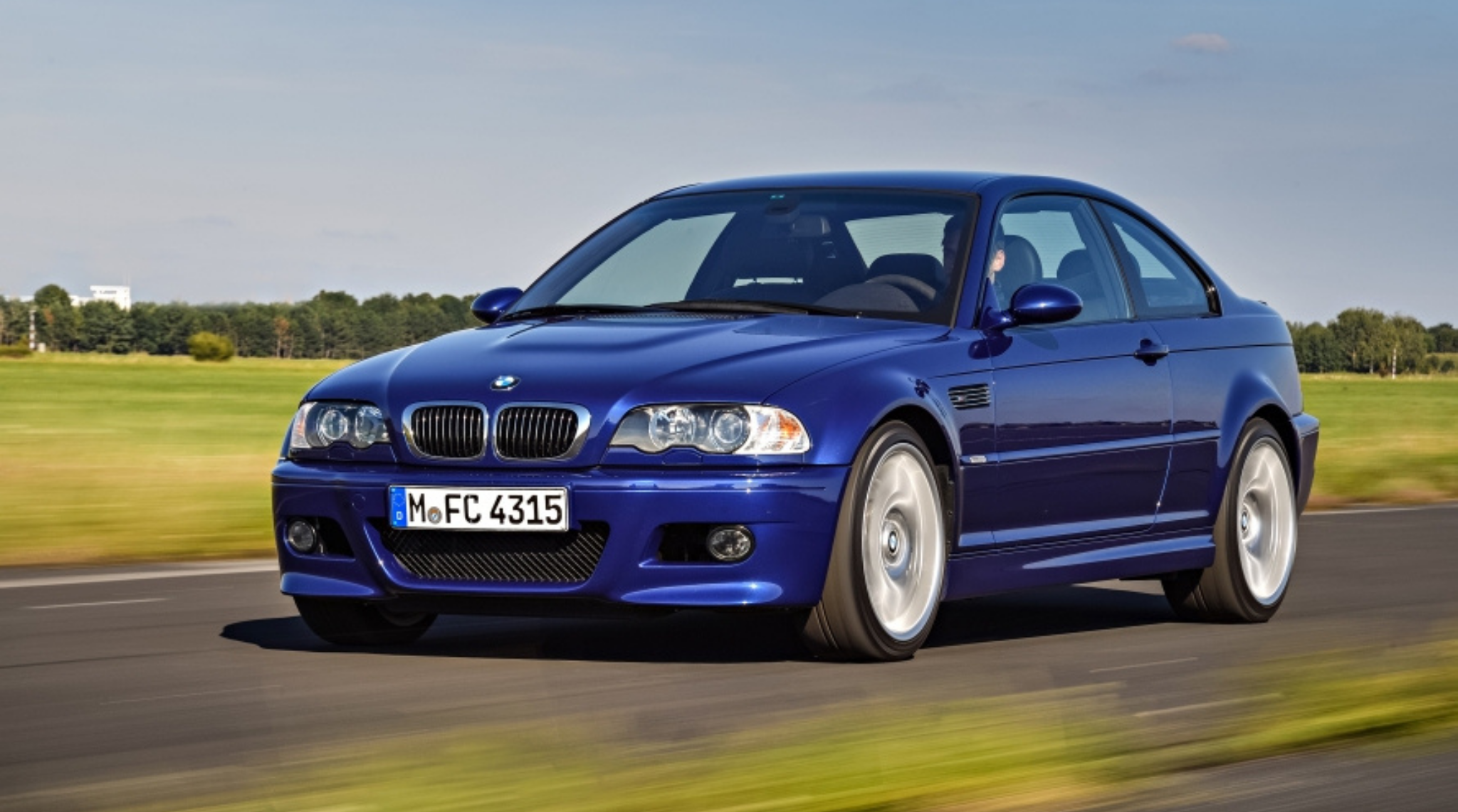 BMW M3 E46 2000 to 2006 Front