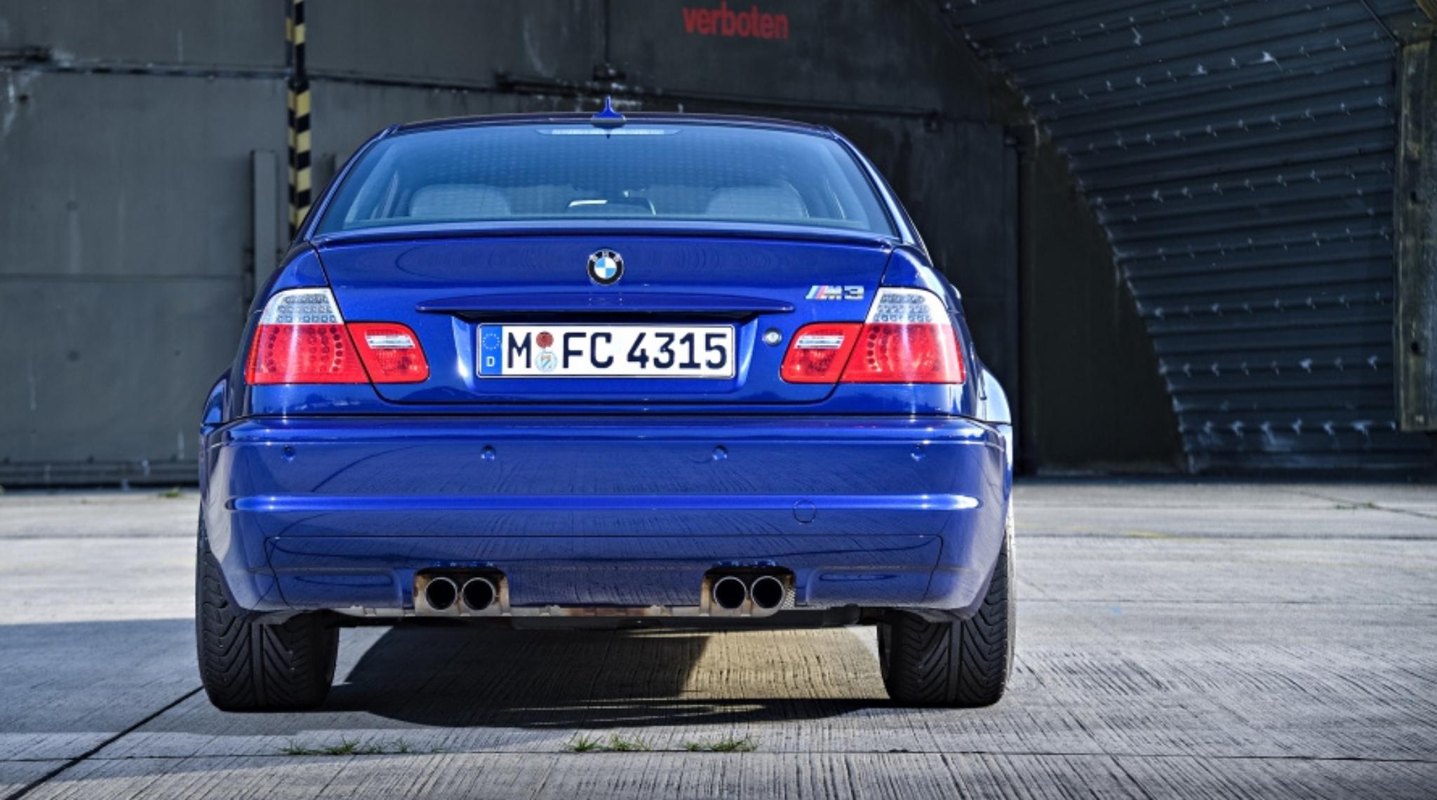 BMW M3 E46 2000 to 2006 Rear