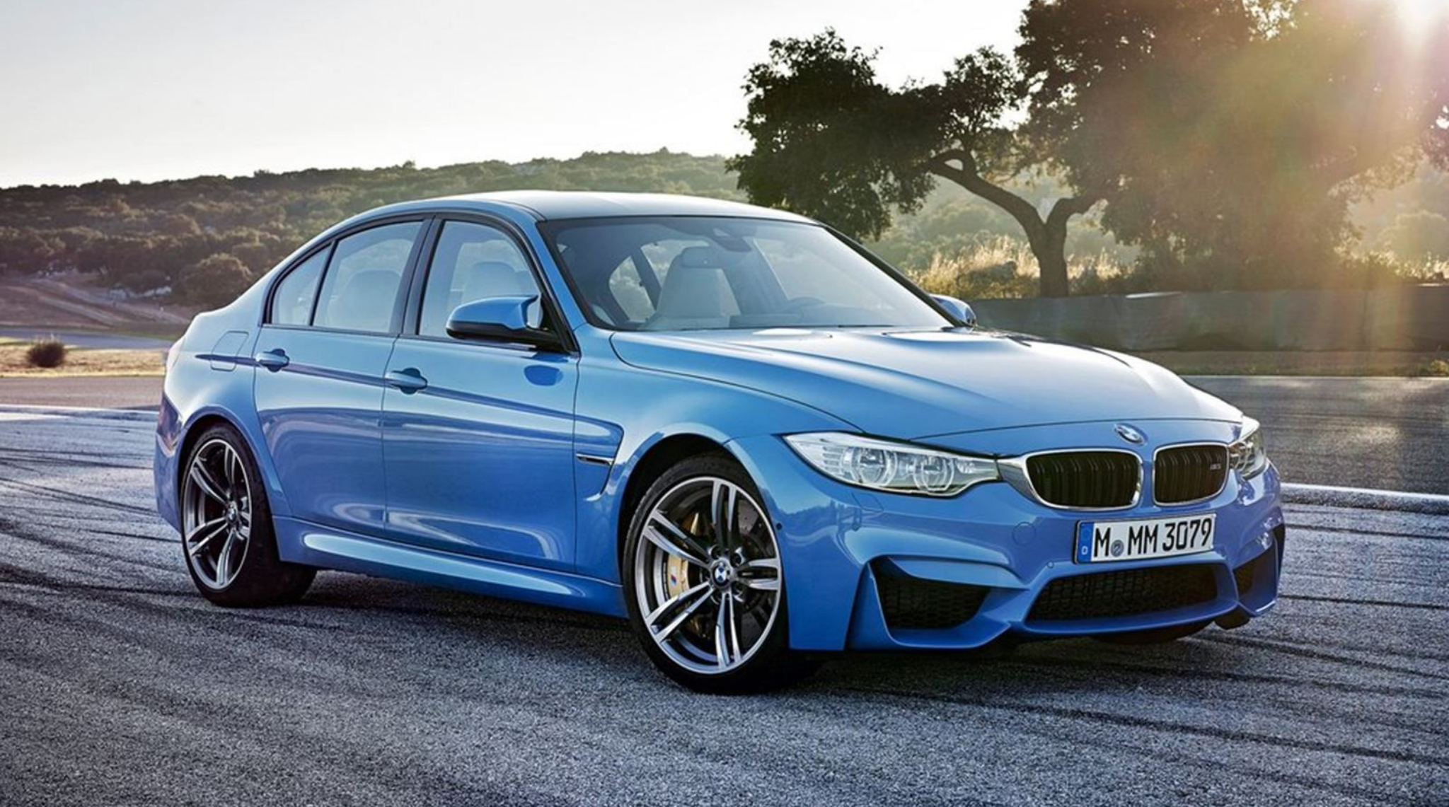 BMW M3 F80 2014 to 2018 Front
