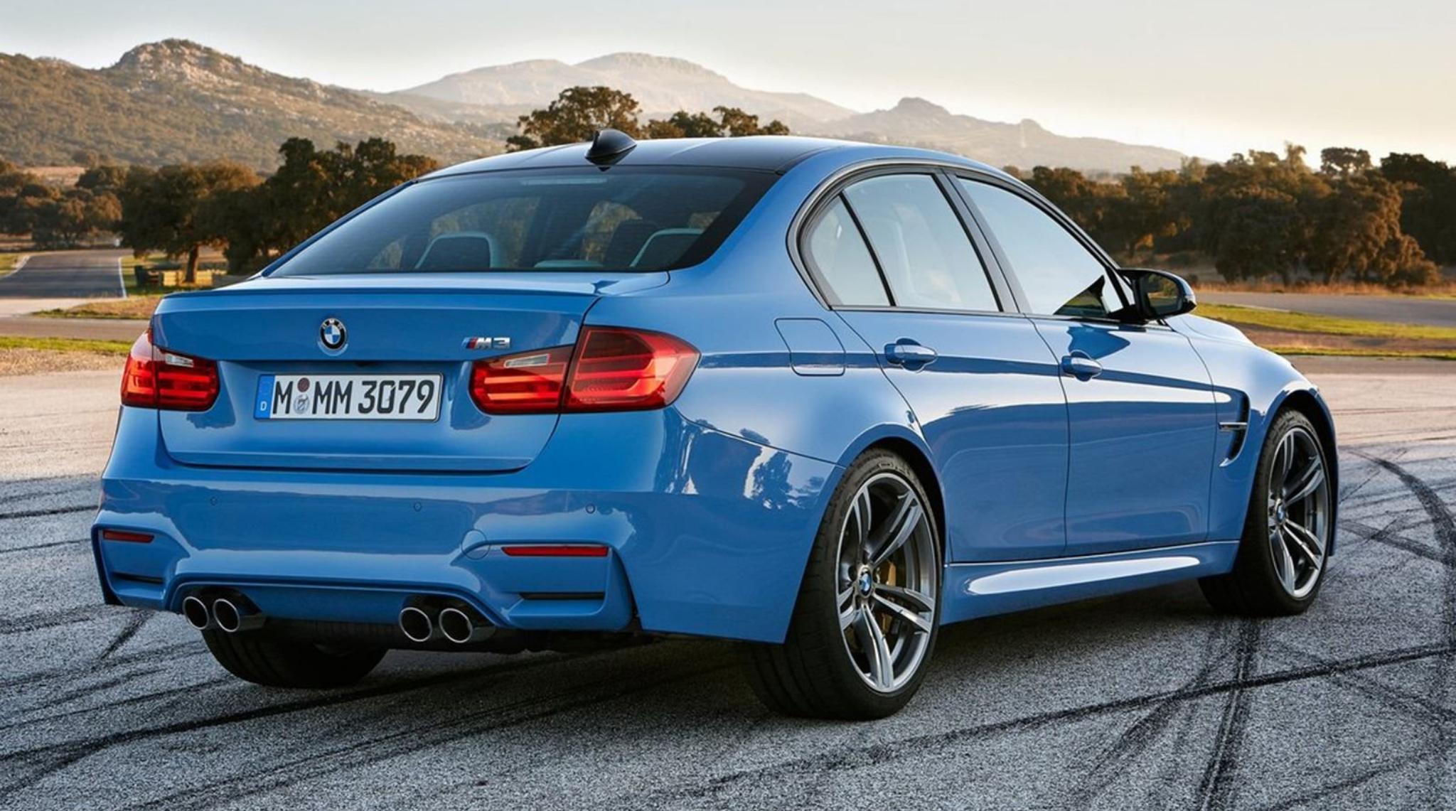BMW M3 F80 2014 to 2018 Rear