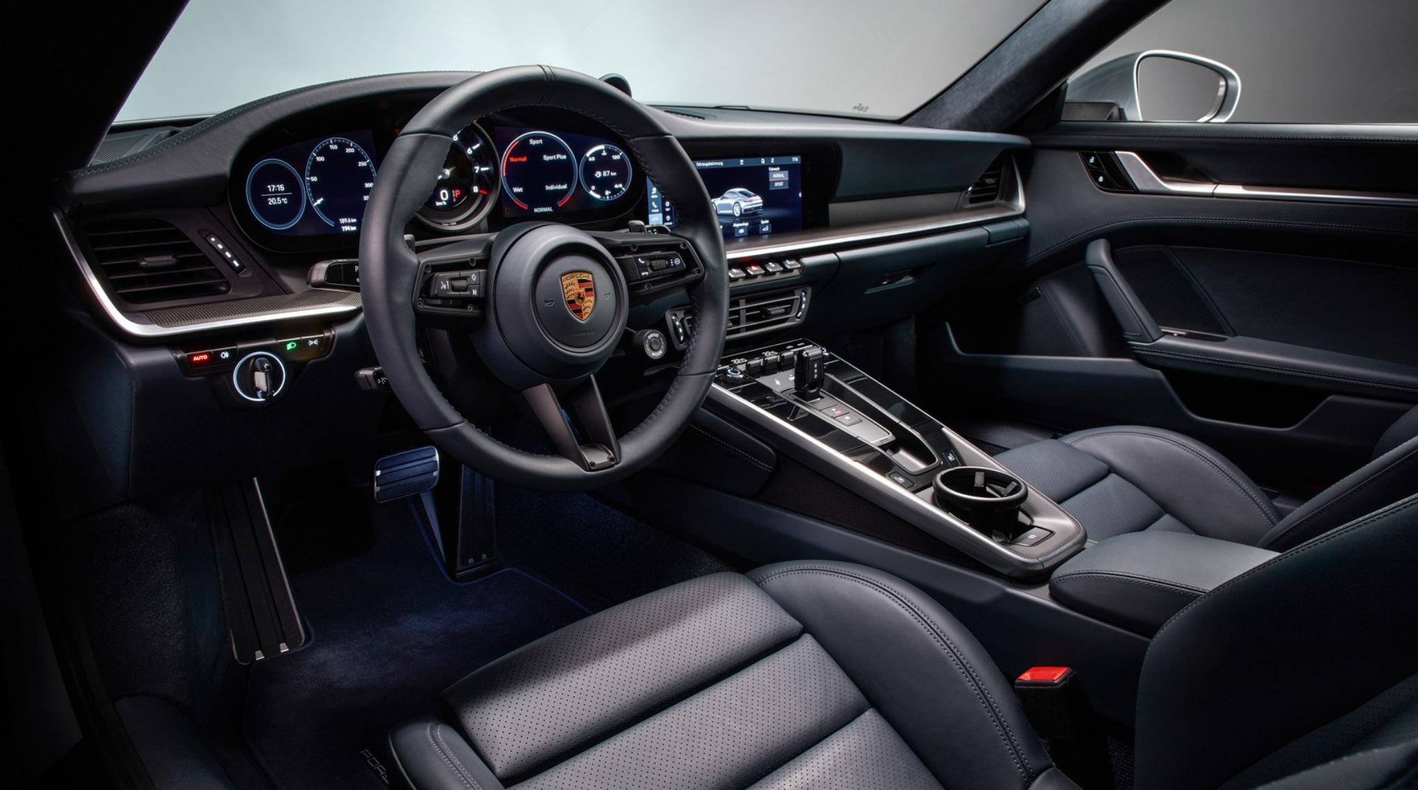 Porsche 911 Interior 2020