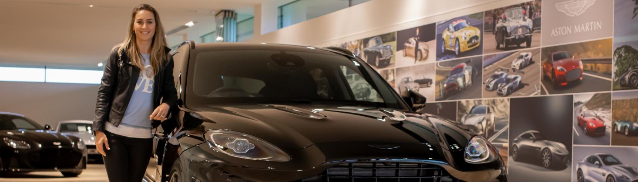 Aston Martin DBX Amy Williams MBE