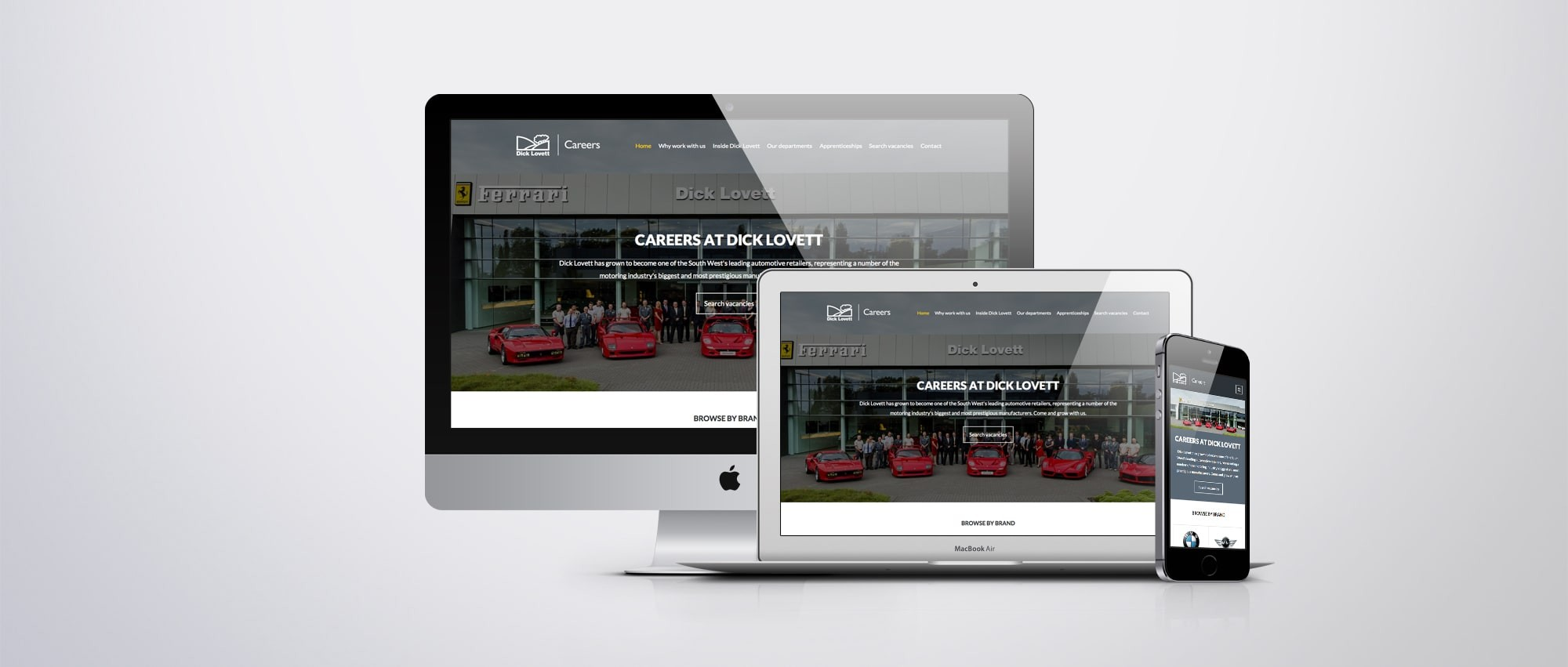 The new Dick Lovett Careers website is now live.