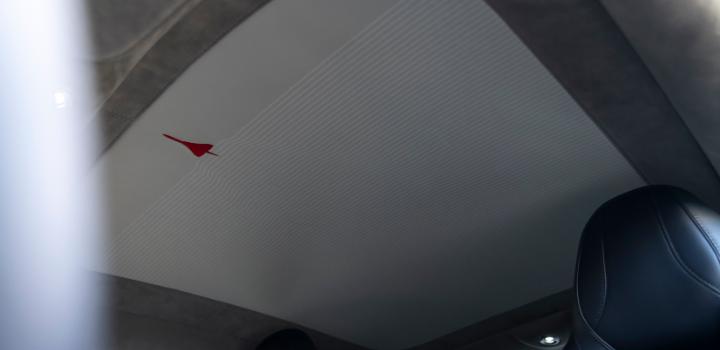Aston Martin DBS Superleggera Concorde Edition   Concorde On Interior Roof Lining
