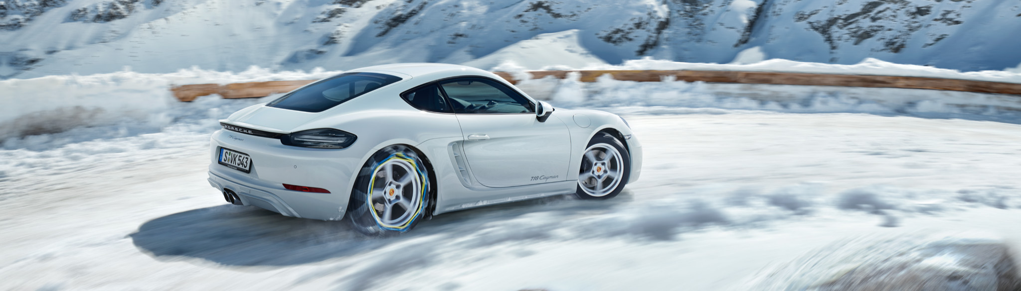 White Porsche In Stock
