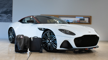 Aston martin dbs superleggera concorde edition luggage3