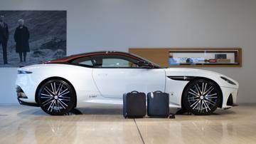 Aston martin dbs superleggera concorde edition luggage4