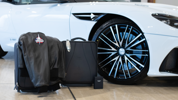 Aston martin dbs superleggera concorde edition luggage5