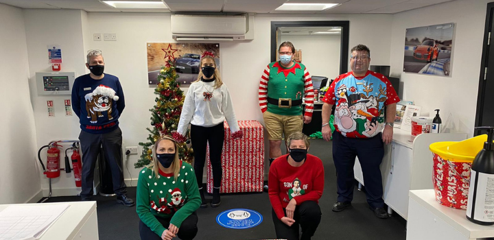 Dick Lovett Staff Christmas Jumpers