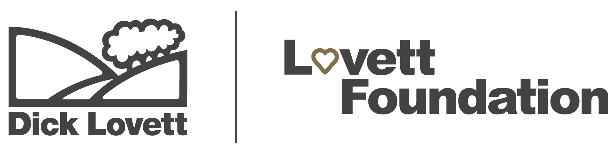 Lovett Foundation Logo with HT Dark