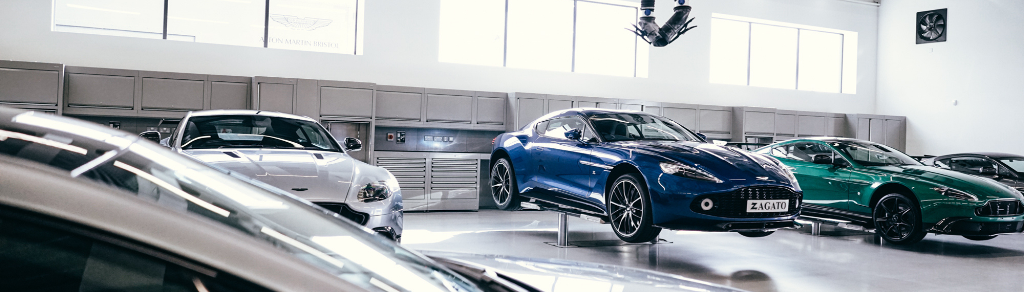 Aston Martin Bristol Workshop