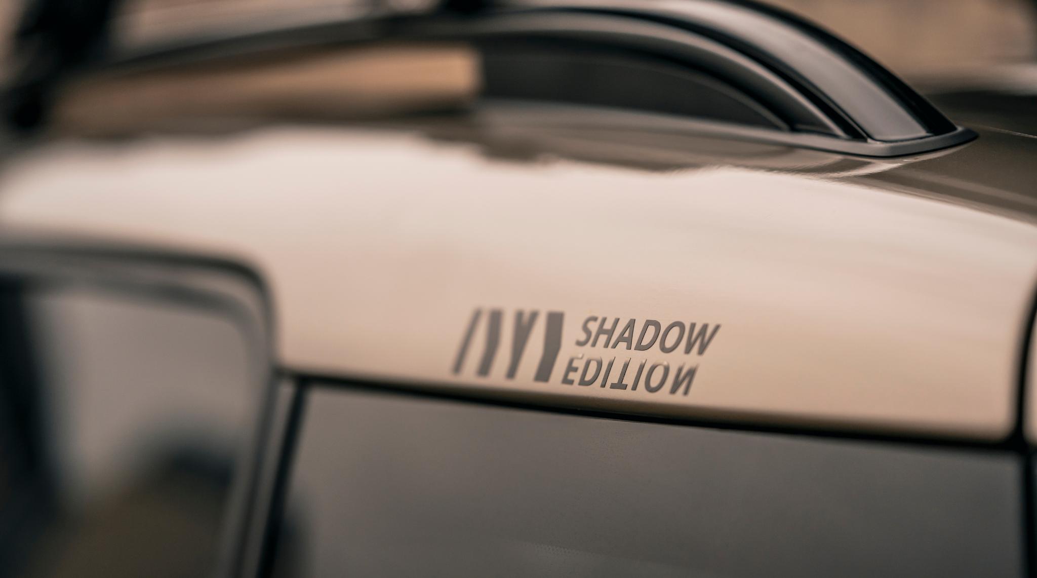 MINI Shadow Edition Roof Rail
