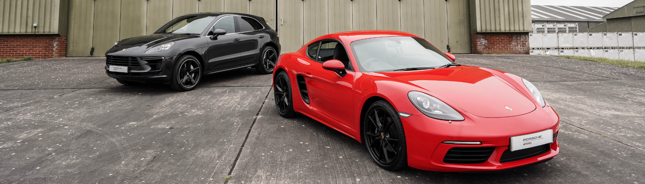 718 Cayman and Macan Turbo