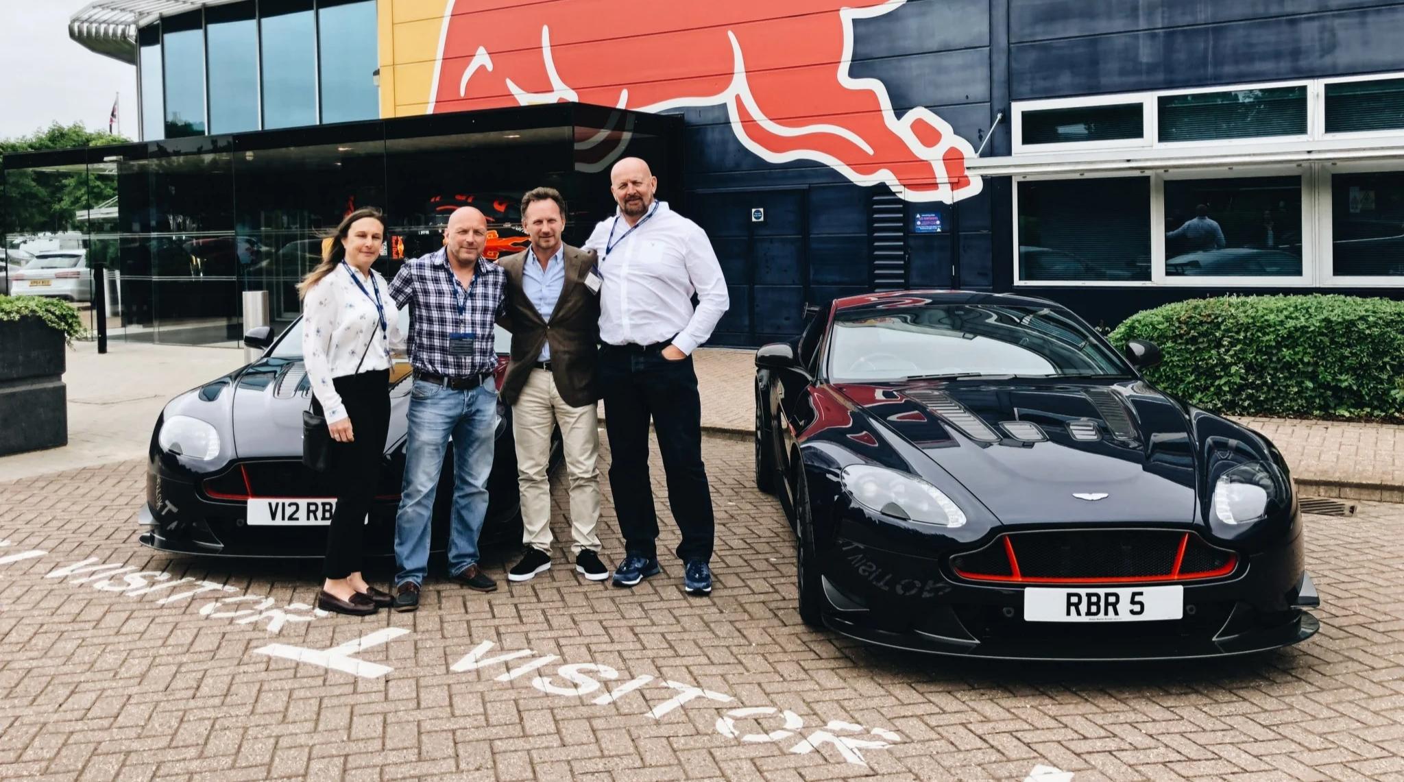 Aston Martin Red Bull Customers