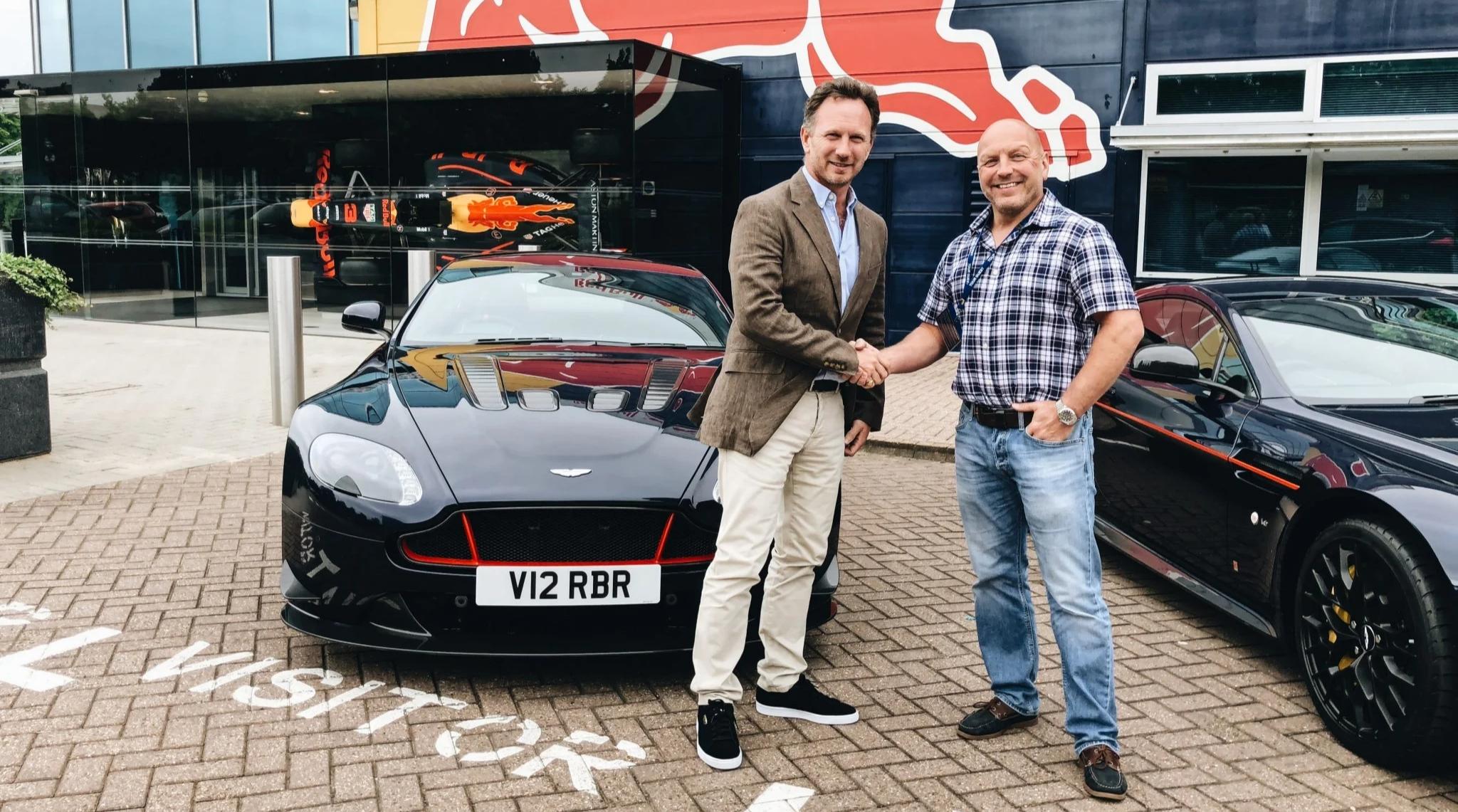 Aston Martin Red Bull Customer Handover