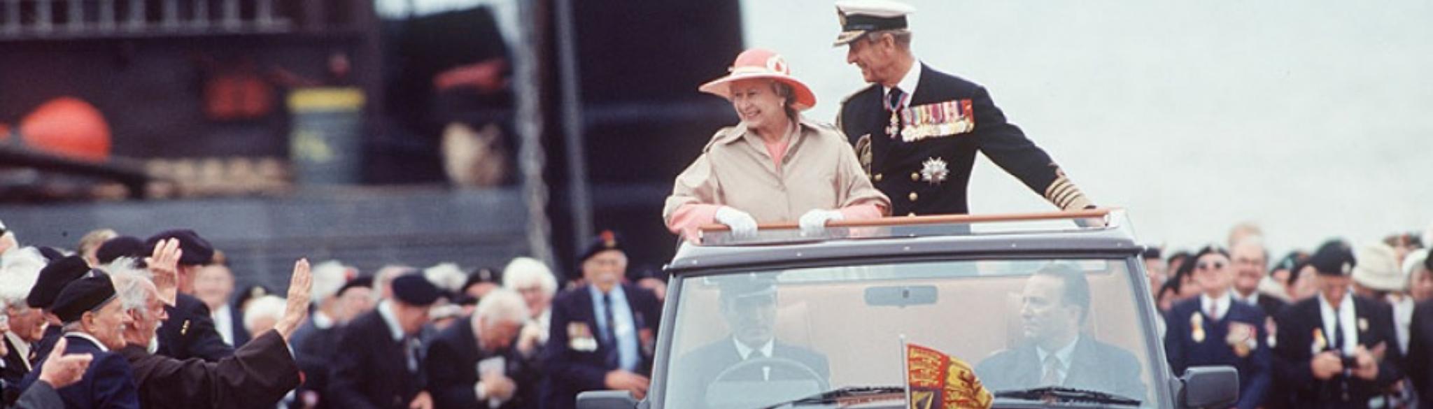 Royal Family Land Rover