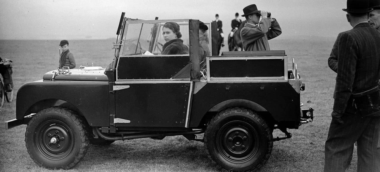 Elizabeth Land Rover
