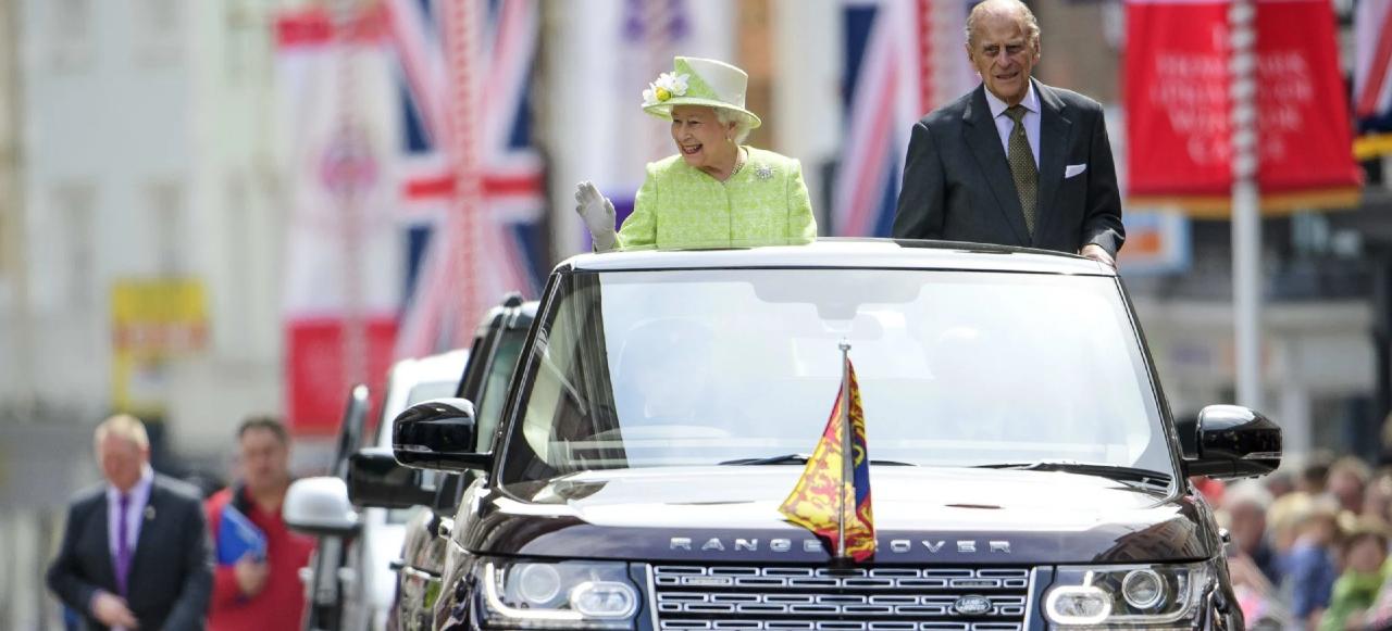 Elizabeth Philip Land Rover