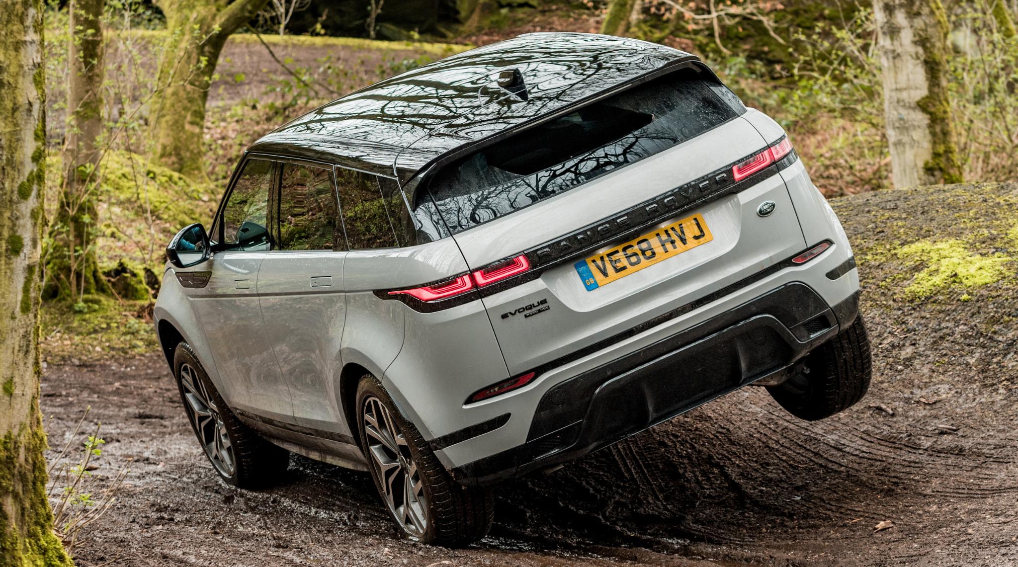 Range Rover Evoque off roading2