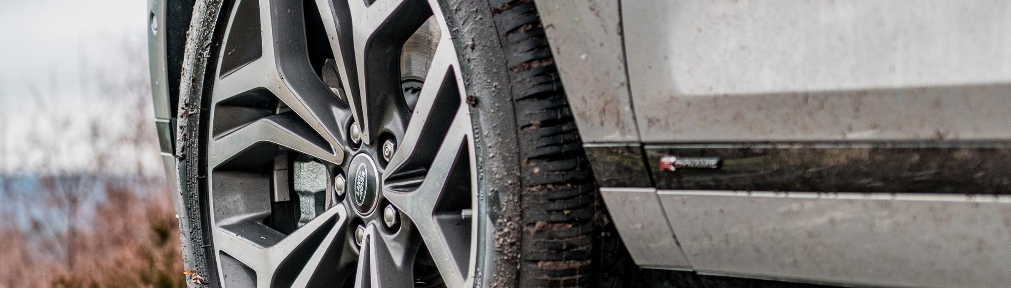 Range Rover Evoque Dirty Alloy