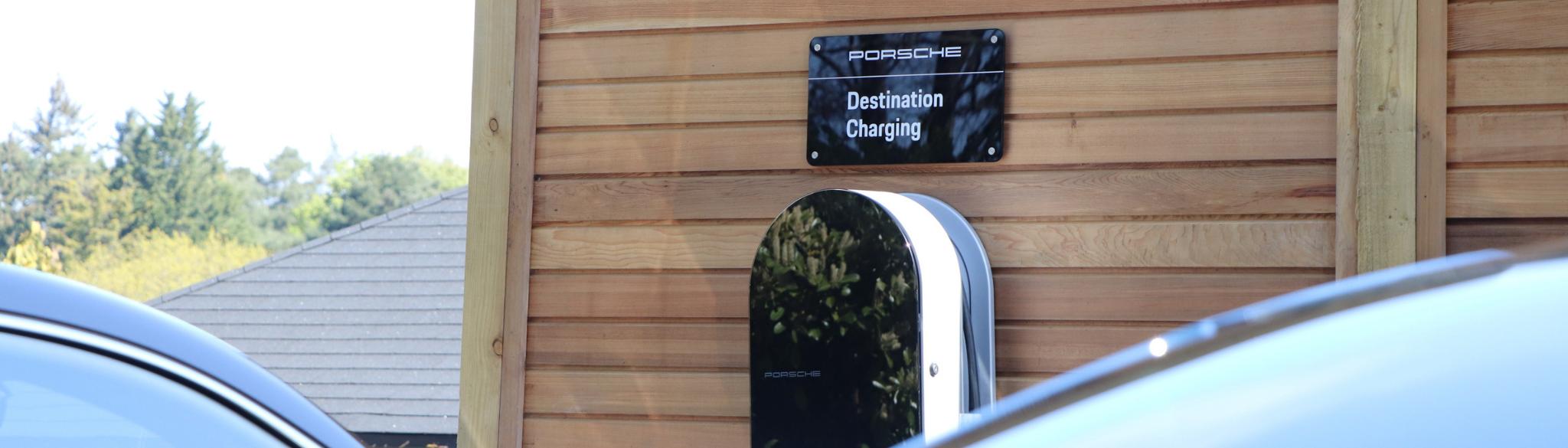 Porsche Destination Charging Homewood Bath Hotel