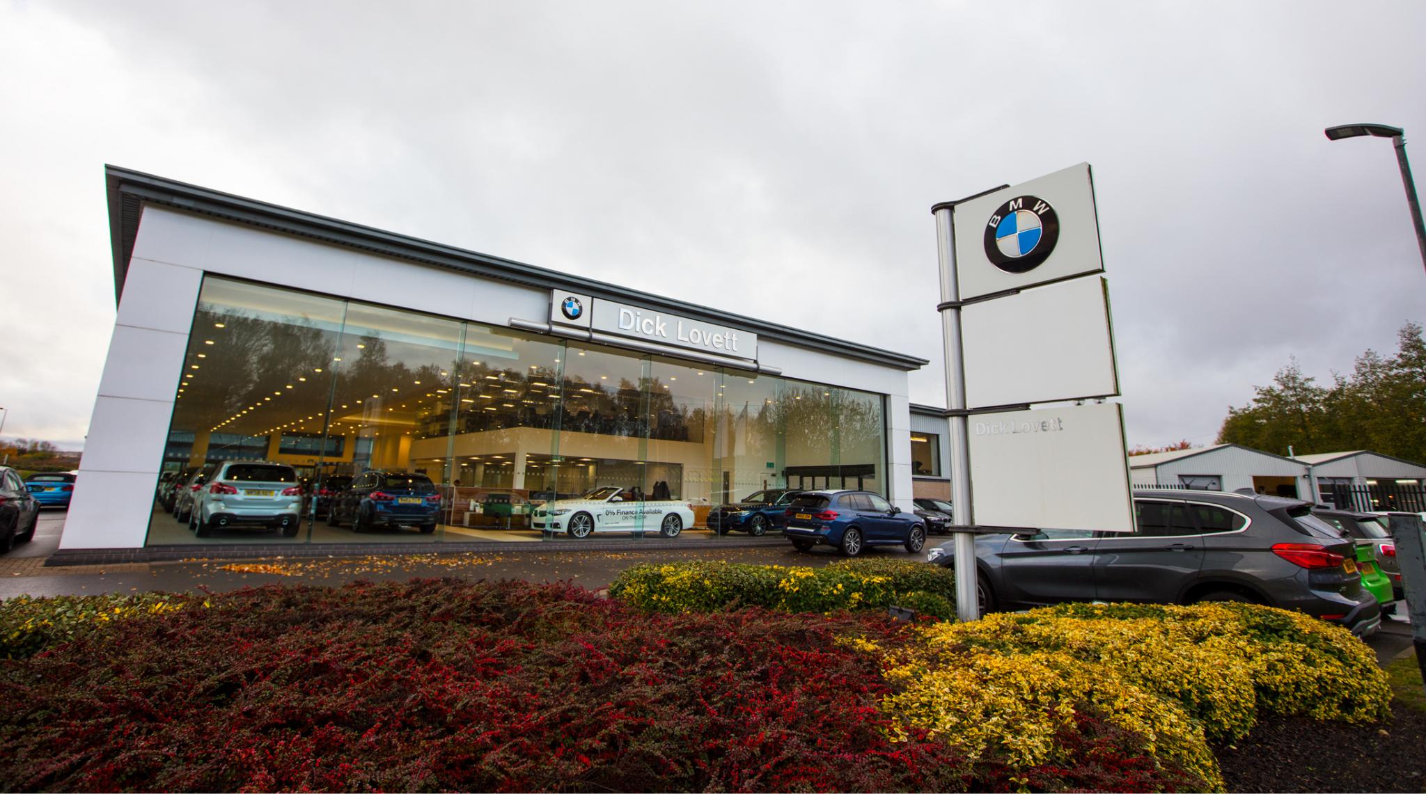 Dick Lovett BMW 3