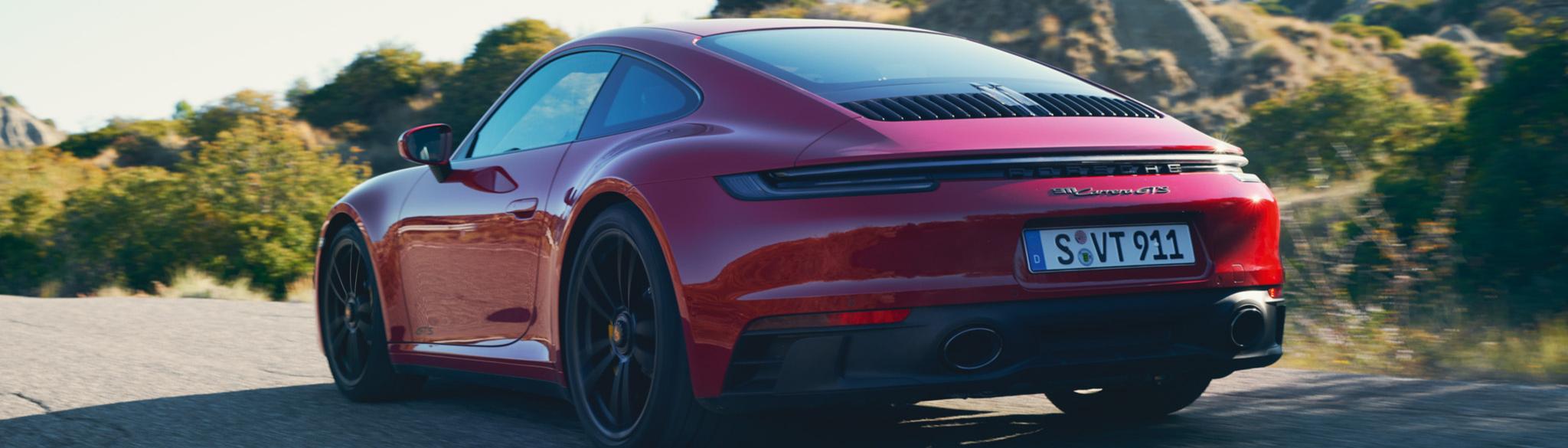 New 911 Carrera GTS