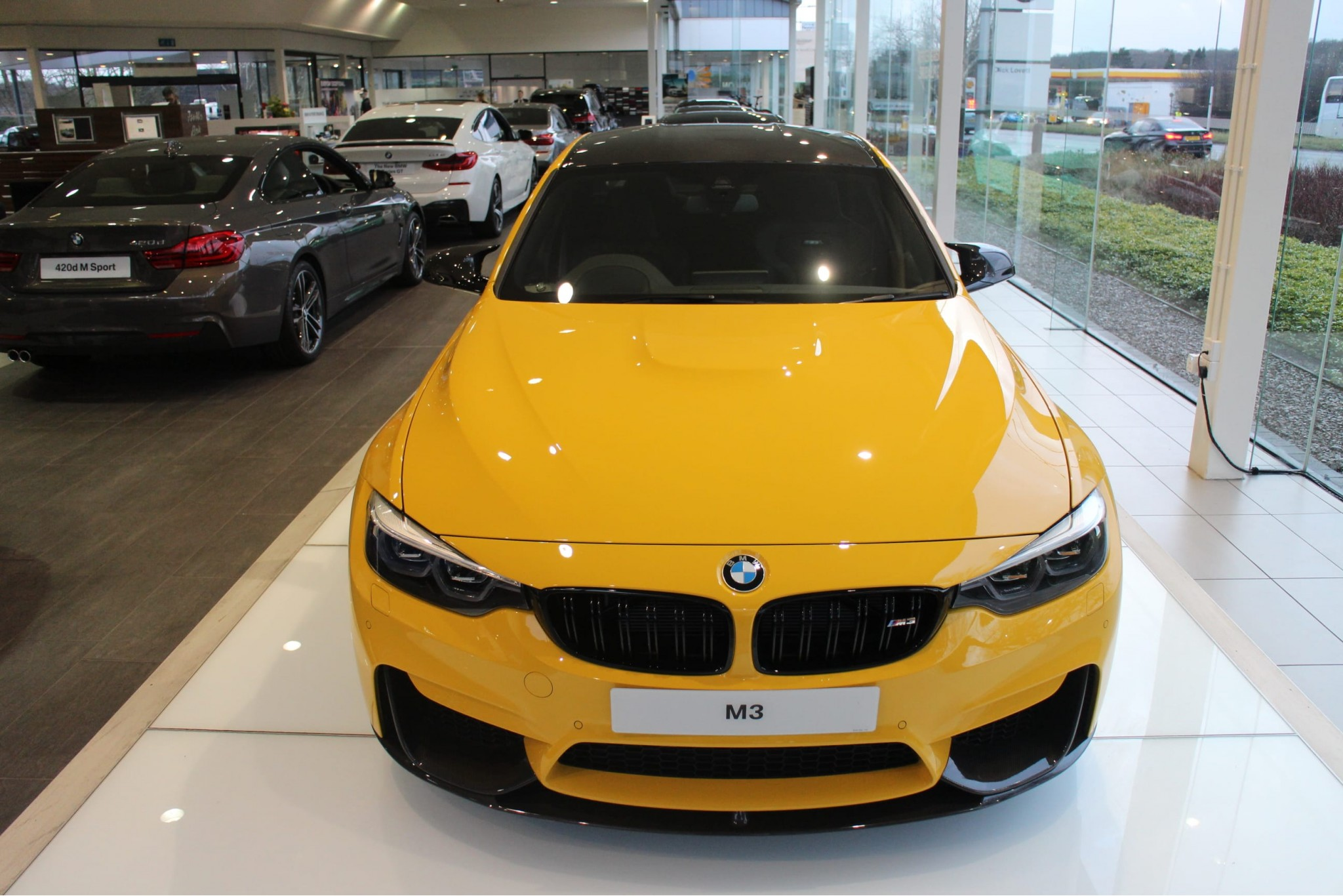 Our Current BMW M Cars at Dick Lovett