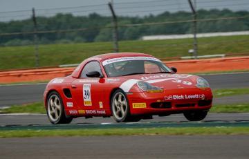 Porsche Restoracing Championship at Silverstone