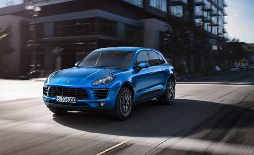 Porsche Macan Receives 5 stars in Euro NCap Ratings