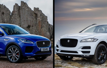 Jaguar E-Pace or F-Pace, Which SUV Will You Choose?