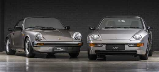 Two Classic Porsches Restored By Porsche Centre Swindon For Project 20