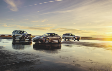 Dick Lovett Jaguar Land Rover Joins Elite Group With Special Vehicle Operations Centre Status