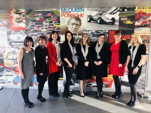 Porsche Celebrate International Women's Day