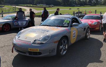 Porsche Centre Cardiff Makes A Return - Porsche Classic Restoracing Competition