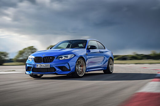 The BMW M2 CS Sets Pulses Racing