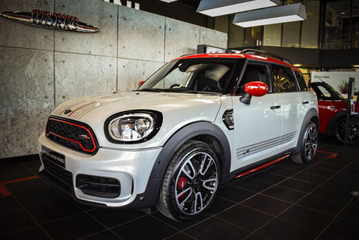 Meet The Stunning White Silver Special Edition MINI