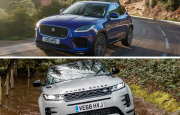 Jaguar Vs Range Rover - How The E-PACE And Evoque Compare