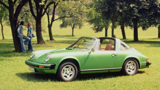 The History Of The Porsche 911 Targa