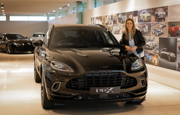 Fun For All The Family - Amy Williams MBE Puts The DBX To The Test As The Ultimate SUV