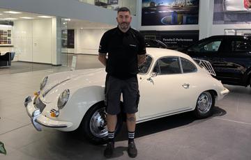 Porsche Centre Swindon Classic 356 Restoration